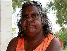 Amy Lauder, an Aboriginal elder