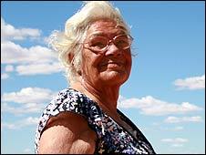 Kath Martin, an Aboriginal elder