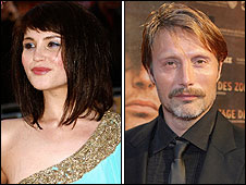 Gemma Arterton and Mads Mikkelsen