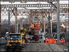 Railway engineering works
