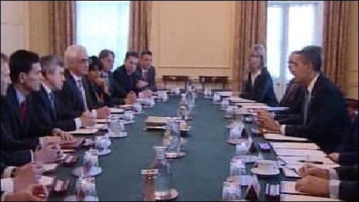 Obama at cabinet