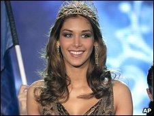 Miss Universe 2008 Dayana Mendoza, from Venezuela
