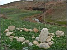 Murat Aslan's grave