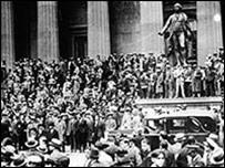 Уолл-стрит в 1929 году