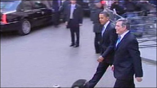 Obama and Brown
