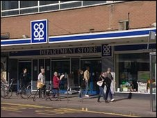 East of England Co-op department store