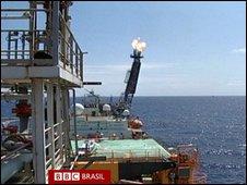 Brazil's oil fields