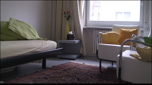 The room where Swiss right-to-die society Exit performs assisted suicides