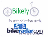 Bikely website