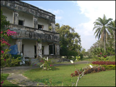 Former residence of the king's mother in Kep