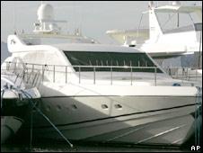 Bernard Madoff's yacht Bull. File photo