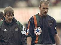 Kenny Dalglish and Alan Shearer