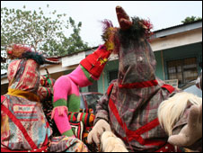 Traditional masquerade spirits