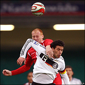 James Collins, Wales; Michael Ballack, Germany