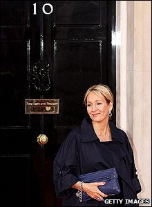 Novelist JK Rowling