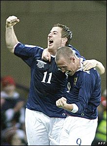 Ross McCormack, Kenny Miller, Scotland