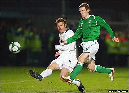 Matej Mavric, Slovenia; Steven Davis, Northern Ireland