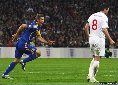 Andriy Shevchenko, Ukraine; Frank Lampard, England