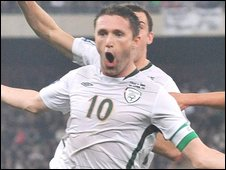 Robbie Keane rescued a point for the Republic of Ireland