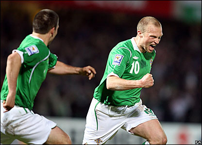 David Healy, Warren Feeney, Northern Ireland