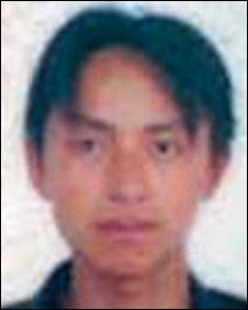 Li Qiaoming, who died in a detention centre in Yunnan Province