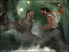 Scene from X Men Origins: Wolverine