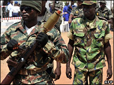 Soldiers in Guinea-Bissau (File photo)