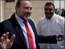 Avigdor Lieberman taking over at the foreign ministry