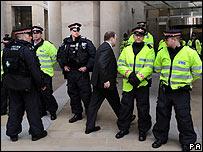 Operativo de seguridad durante la Cumbre del G-20 en Londres