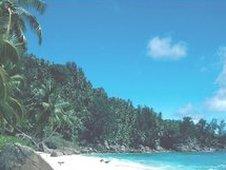 Anse Interdance beach in Seychelles