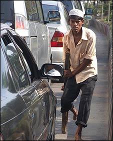 Beggar in Dhaka