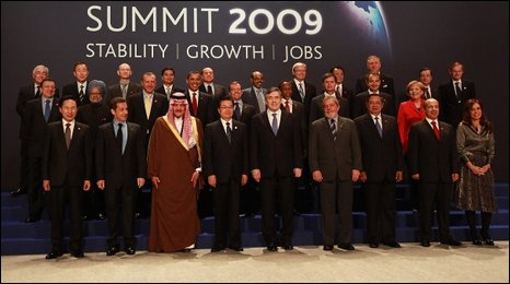 The G20 family photo