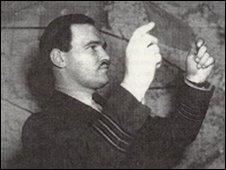 Ernest Millington in 1945