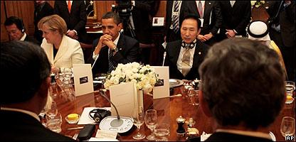 Cena en el marco de la cumbre del G-20