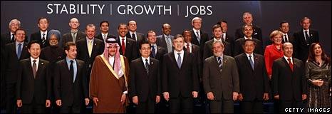 G20 family photo - 2/4/2009