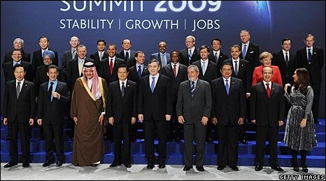 First G20 family photo