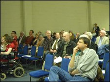 Public meeting in Cwmbran (Picture from All Wales Convention)