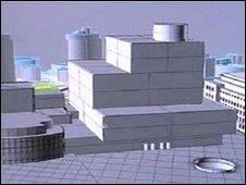New library design (from special film on the subject)