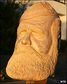 Carving of Osgood MacKenzie