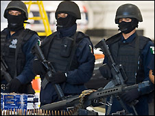 Mexican federal police - 12/3/2009