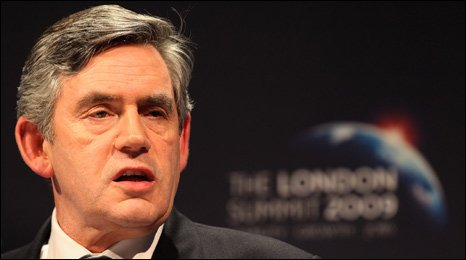 Gordon Brown announces G20 agreement