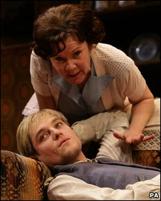 Imelda Staunton and Mathew Horne