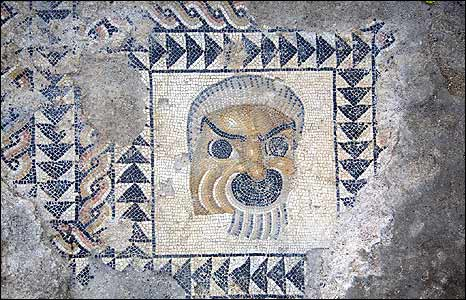 Butrint Triconch Palace mosaic (pic: Butrint Foundation)