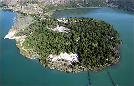 Butrint aerial view (pic: Butrint Foundation)