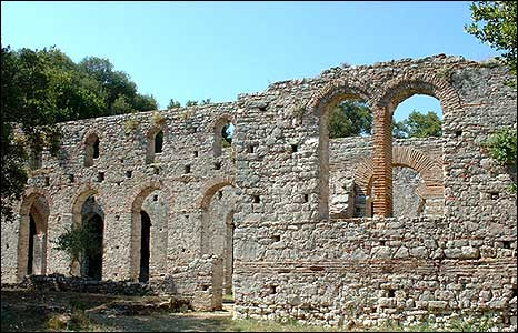 Great Basilica (pic: Butrint Foundation)