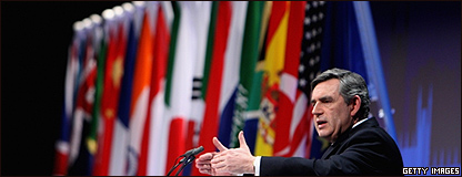 Gordon Brown, ministro brit�nico