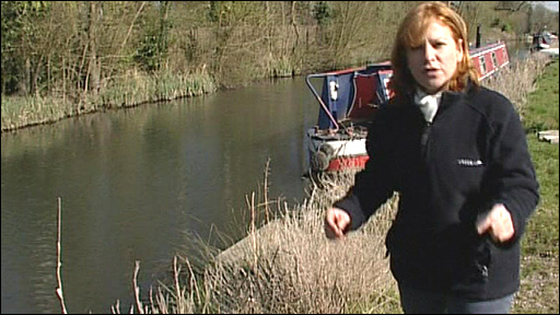 The BBC's Alison Harper reports on the canal nature survey