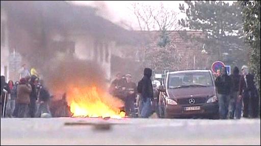 Strasbourg clashes