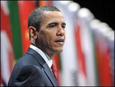 Barack Obama speaks after the G20 summit
