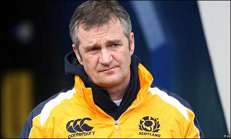 Former Scotland coach Frank Hadden